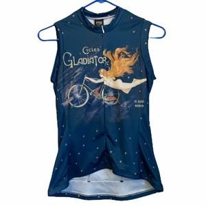 NWT REI Flying Cyclist Small Jersey Sleeveless Top